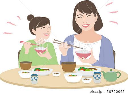 食事3(母と娘の食事) 50720065