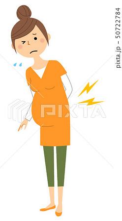 若い女性 ママ 腰痛 50722784