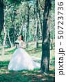 女性 森 ドレスの写真 50723736
