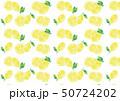 パターン レモン 檸檬のイラスト 50724202