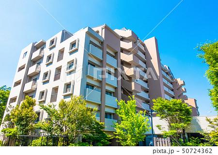 大規模修繕後のマンション 50724362
