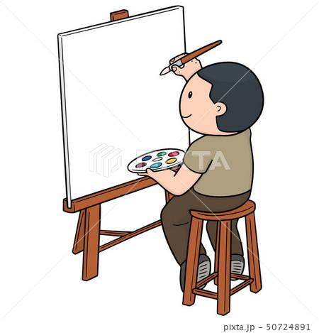 vector of artist 50724891