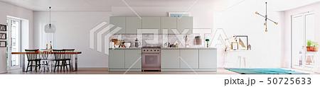 modern scandinavian style  interior. 50725633
