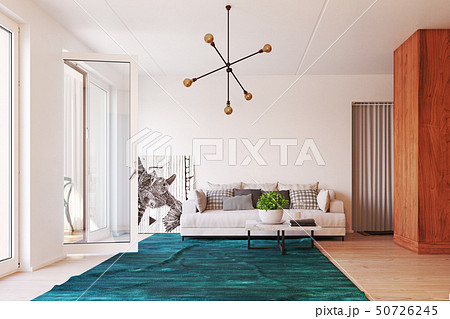 modern  living interior design. 50726245