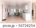 modern scandinavian style kitchen interior. 50726254