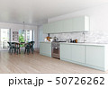 modern scandinavian style kitchen interior. 50726262
