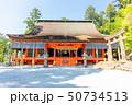 英彦山神宮 神宮 新緑の写真 50734513