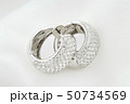 White Gold Earrings With Diamonds On Soft White 50734569