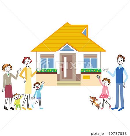 家と家族 50737058