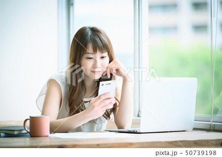 ライフスタイル 女性 50739198