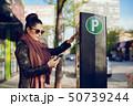 駐車 支払う 支払いの写真 50739244