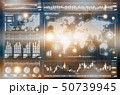 グローバル ネットワーク 通信のイラスト 50739945