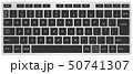 キーボード 日本語キーボード ベクターのイラスト 50741307