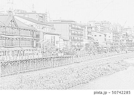 京都の街並み 50742285