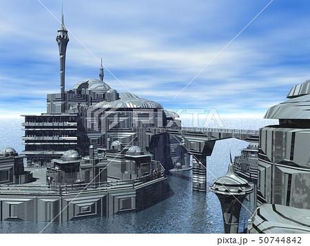 海上都市4のイラスト素材 [50744842] - PIXTA