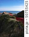 元乃隅神社 鳥居 海の写真 50755425
