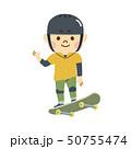 スケートボード 男性 50755474