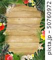 夏 フレーム トロピカルのイラスト 50760972
