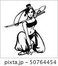 サムライ samurai 武士のイラスト 50764454