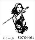 サムライ samurai 武士のイラスト 50764461