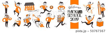 Big set of Back to school childrens 50767367