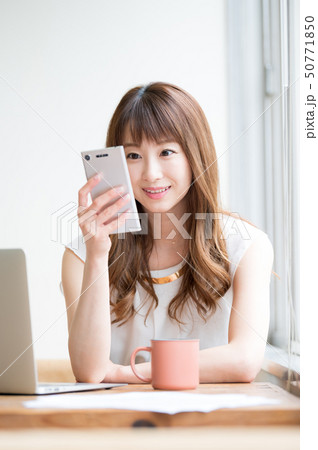 ライフスタイル 女性 50771850