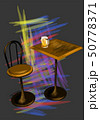 bar table with beer 50778371