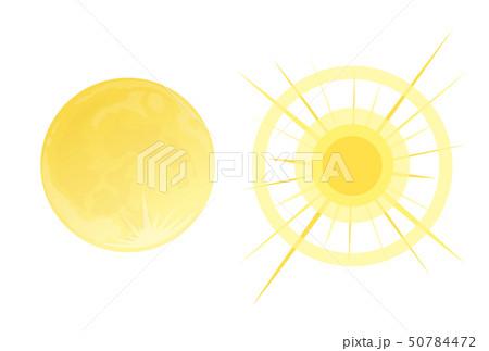 月と太陽 50784472
