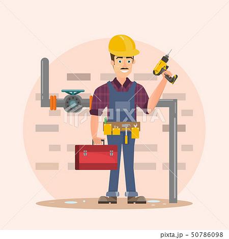 architect, foreman, engineering construction 50786098