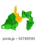 静岡県と静岡市地図 50789595