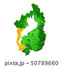 滋賀県と大津市地図 50789660