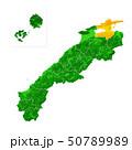 島根県と松江市地図 50789989