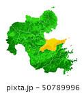 大分県と大分市地図 50789996