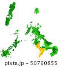 長崎県と長崎市地図 50790855