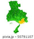 兵庫県と神戸市地図 50791107
