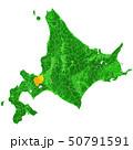 北海道と札幌市地図 50791591