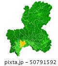 岐阜県と岐阜市地図 50791592