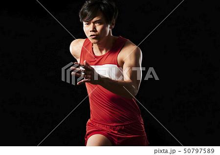 アスリート 陸上競技 走る 50797589