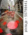 ニューヨーク・ウォール街の街並み 50798441