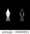 人 男 男の人のイラスト 50800931