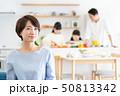 親子 料理 食卓 ファミリーイメージ 50813342