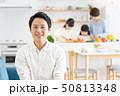 親子 料理 食卓 ファミリーイメージ 50813348