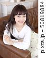 女性 女の子 ヘアスタイルの写真 50819884