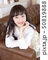 女性 女の子 ヘアスタイルの写真 50819888