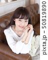 女性 女の子 ヘアスタイルの写真 50819890