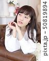 女性 女の子 ヘアスタイルの写真 50819894