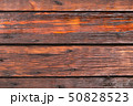 Wooden planks background, weathered, with nails. 50828523