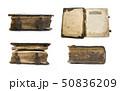 Medieval old book, psalter 50836209