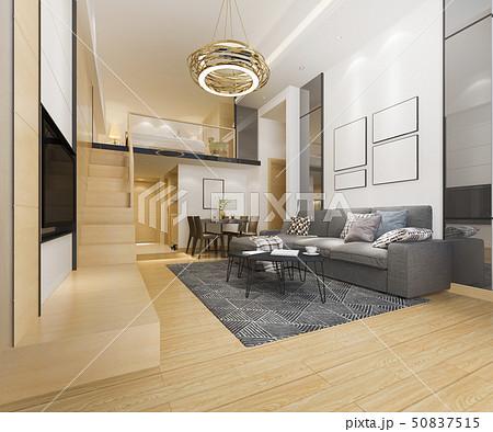 wood living room near bedroom upstair 50837515