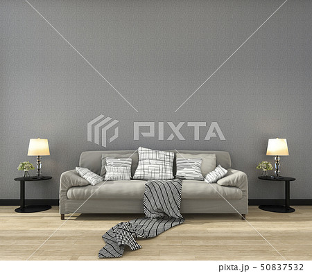 mock up frame in living room with sofa 50837532